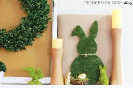 Easter Bunny Decorations Diy by Diy Moss Bunny Decoration