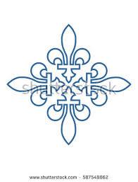 photo ornament company logo vector stock vector 693392860