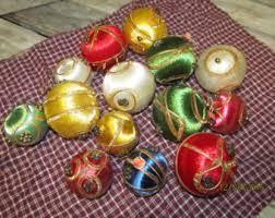 silk thread ornament etsy