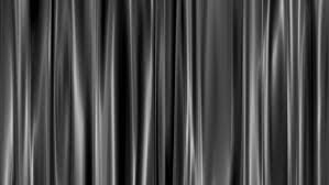 Black Gray Curtains Gray Curtains Open White Background Stock Footage 3171610