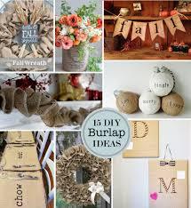 Kitchen Craft Ideas 15 Diy Burlap Craft Ideas Perpetually Daydreaming
