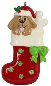 personalized dog christmas ornaments amazon com