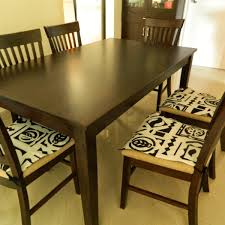 Seat Cushions Dining Room Chairs Room Chair Pads With Ties