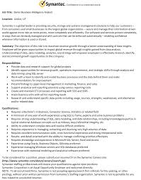 Business Analyst Resume Summary Examples by Senior Business Analyst Resume Best Free Resume Collection