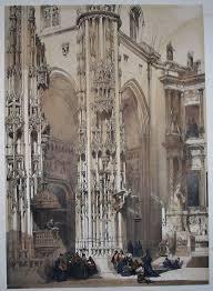 roberts spanish sketches san miguel xeres 768x1049 petra fine art