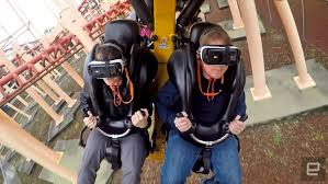 Six Flags Newsletter Six Flags U0027 New Vr Roller Coaster Is Both Breathtaking And Broken