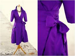 7 days of holiday party dresses kelly u0027s rich purple wrap dress