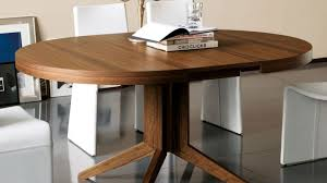 table satiating expandable round dining table how to build
