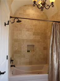bathroom travertine tile design ideas travertine tile bathtub shower combo surround design ideas