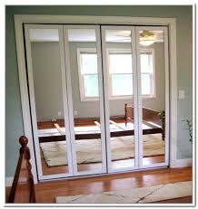 Mirror Closet Door Mirror Bifold Closet Door Mirror Closet Doors Hardware Door
