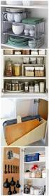 Kitchen Cabinet Interior Organizers by Best 25 Inside Cabinets Ideas Only On Pinterest Kitchen Space