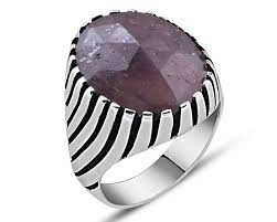 mens rings stones images Mens ring zenn stone jpg