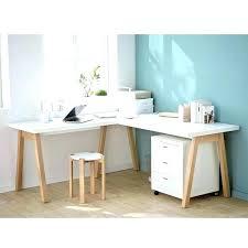bureau angle bois grand bureau en bois grand bureau bois clair curiousoyster co