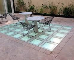 glass flooring textured colored concrete look non slip