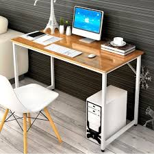 Simple Computer Desk Fancy Home Office Setup With Modern Chairs And Simple Computer