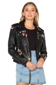 cloth moto jacket blanknyc moto jacket in as you wish revolve