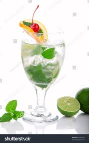 peppermint martini clip art green fresh mojito cocktail light rum stock photo 70792768