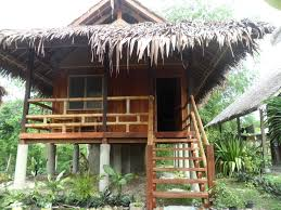Small Eco Houses Native Eco Aircon Cottage Mayas Native Garden Moalboal
