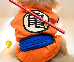 Goku Halloween Costumes Ball Goku Dog Costume