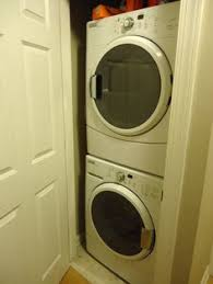 can you wire a closet for a washer and dryer answer most