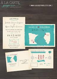 wedding cards usa destination wedding invitation usa two states one one big