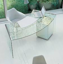 Curved Office Desk Furniture Curved Desk Search Office Pinterest Glass Office