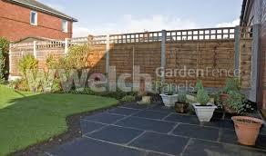 4 Ft Fence Panels With Trellis Garden Trellis Square Fencing