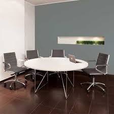 round office table and chairs air executive circular meeting room table meridian office furniture