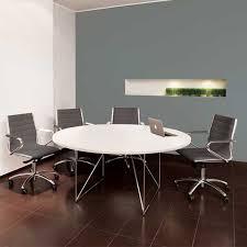Circular Meeting Table Air Executive Circular Meeting Room Table Meridian Office Furniture
