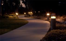 Brightest Solar Landscape Lighting - outdoor lighting tropical landscape designs
