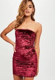velvet dresses women u0027s velour dresses online missguided