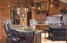 Rustic Cabin Kitchen Ideas by Cool Kitchen Ideas Uk