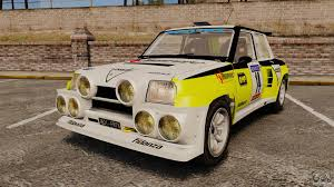 renault 5 rally renault 5 turbo maxi for gta 4