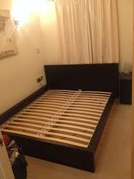 Ikea Malm Queen Platform Bed With Nightstands - ikea king bed frame malm frame decorations