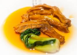 Cuisine Trotter - stewed duck trotter cuisine stock photo picture and