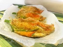 ricette con fiori di zucchina al forno fiori di zucca al forno ricetta vegetariana