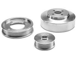 95 mustang gt underdrive pulleys bbk mustang underdrive pulleys aluminum 1554 94 95 gt free