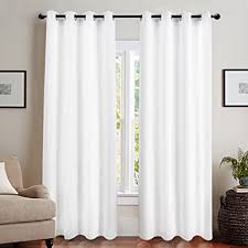 Blackout Curtains Liner Blackout Curtain Liner Thermal Insulated White