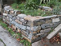 landscaping with stone stone wall corner l huls designs l