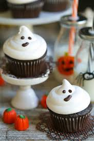 easy ghost cupcakes video what should i make for