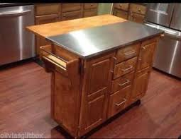kitchen island cart stainless steel top kitchen island cart stainless steel top breakfast bar wood
