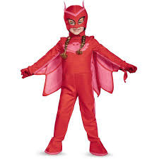 Walmart Halloween Costumes Toddlers Pj Masks Owlette Deluxe Toddler Costume Walmart