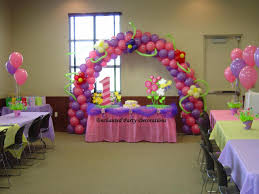 simple balloon decoration for birthday at home decorations