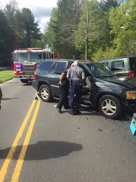two injured in two car crash in bethel newtown daily voice