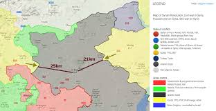 Syria Map Location by The Turkish Military Intervention In Syria Dcss News