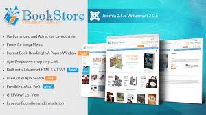 html5 templates for books book store virtuemart template themes templates