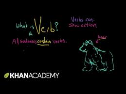 introduction to verbs video khan academy