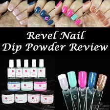 manic talons gel polish and nail art blog review revel nail dip