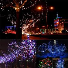 Solar Garden Tree Lights by Wholesale 17m 55 7feet 100leds Rgb Christmas Waterproof Solar Wire