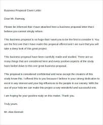 business proposal cover letter amazing business proposal cover